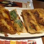 一口餃子バル BLG@新宿  いろいろな餃子食べられるランチを食べてきた!