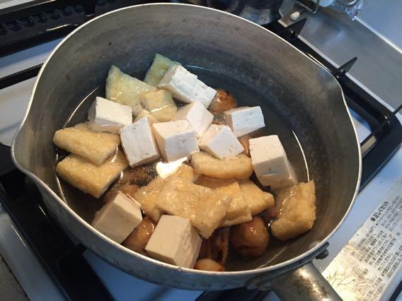 油揚げ 豆腐