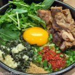まぜはる@浅草橋 極太麺の絶品のまぜそばを食べてきた。
