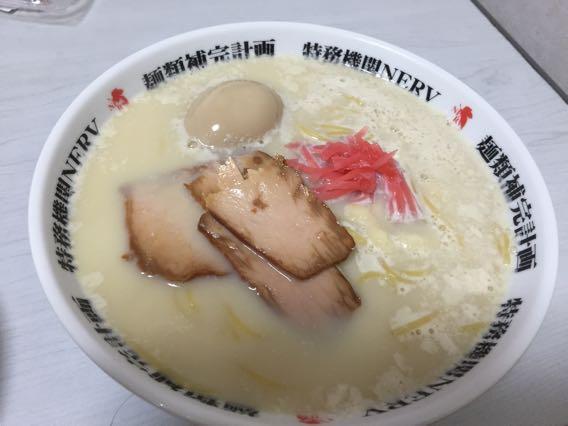 豆腐ラーメン 完成