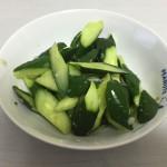土用だから瓜を食べよう!簡単スタミナきゅうり