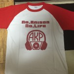 作ったTシャツが届いた!しっかりとした作りで満足!