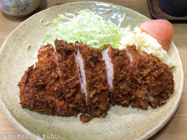 幸楽(浜松)のとんかつ定食