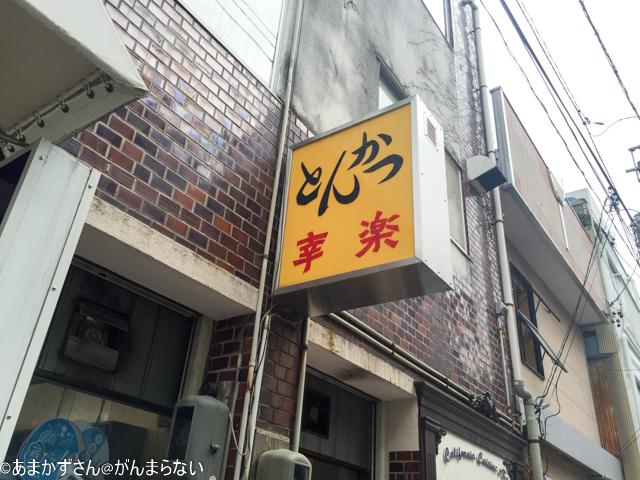 幸楽(浜松)の看板