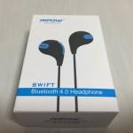 「Mpow Swift Bluetooth 4.0 イヤフォン 」ランニング用のBluetoothイヤホンを買ってみた。使い心地は上々