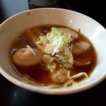青森煮干し中華そば JIN 鶏の陣@経堂 さっぱり系の煮干しラーメンをいただく。【新店】