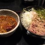 香味つけ蕎麦 七並(しちならべ)@新宿三丁目 具だくさんの「よくばりそば」をいただく
