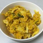 残り物のカボチャで作るシンプルで簡単なサラダ【料理】