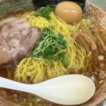 覆麺 智(ふくめん とも)@神保町 すっきりとしたスープの絶品煮干しラーメンをいただく。