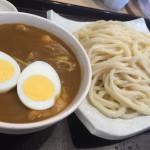 元祖 武蔵野うどん 幸(こう)@経堂 濃厚カレーのカレー汁をいただく。