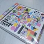 大人気アニメ「おそ松さん」のエンディング「SIX SHAME FACES ~今夜も最高!!!!!!~」を買ってきた!