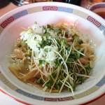 宝華@東小金井 駅近の中華料理屋さんで絶品油そば「宝そば」をいただく。