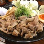 はやたろう 立川店@立川 お肉たっぷりの限定の「黒旨肉そば」をいただく!