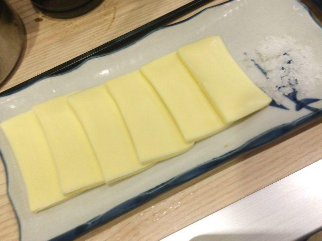 晩杯屋 高円寺純情店で塩チーズ