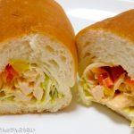 緑町のパン屋さん クラウン@東小金井 アジアンテイストなピリ辛感がたまらない!「シラチャーコッペ」を実食。