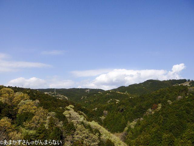 三島スカイウォークから見える風景 箱根方面
