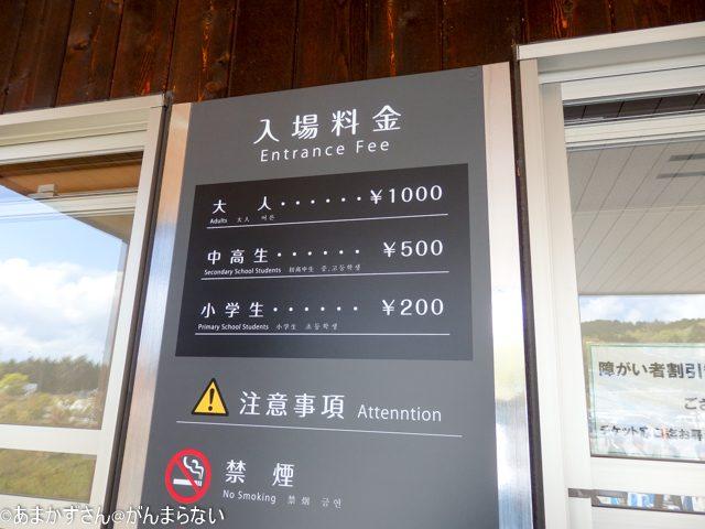 三島スカイウォーク チケットの値段