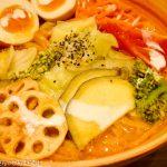 ソラノイロ ニッポン@東京駅 特製ベジソバを実食。野菜の甘みがすごい一杯!