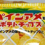 「パインアメ味のポテトチップス」を実食!確かにこれはパインアメ!甘塩っぱさがクセになる!