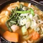 小作 山梨の郷土料理「ほうとう」を頂く!具材がたくさんでお腹いっぱいになれる!