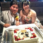 結婚パーティーを開催!たくさんの友人たちに祝ってもらえた!