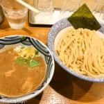 道玄坂 マンモス で極太麺の濃厚つけ麺をいただく!これはクセになる!