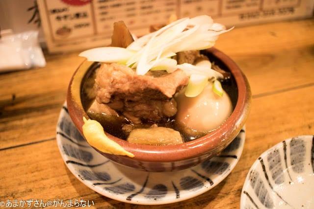 武蔵小金井「にしだ場」の牛すじ豆腐