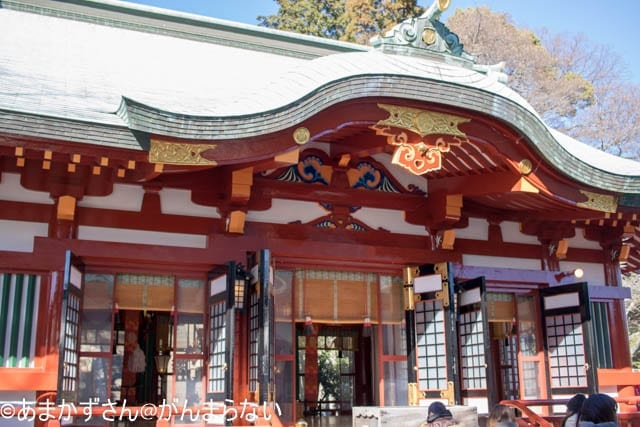 静岡浅間神社にある静岡浅間神社
