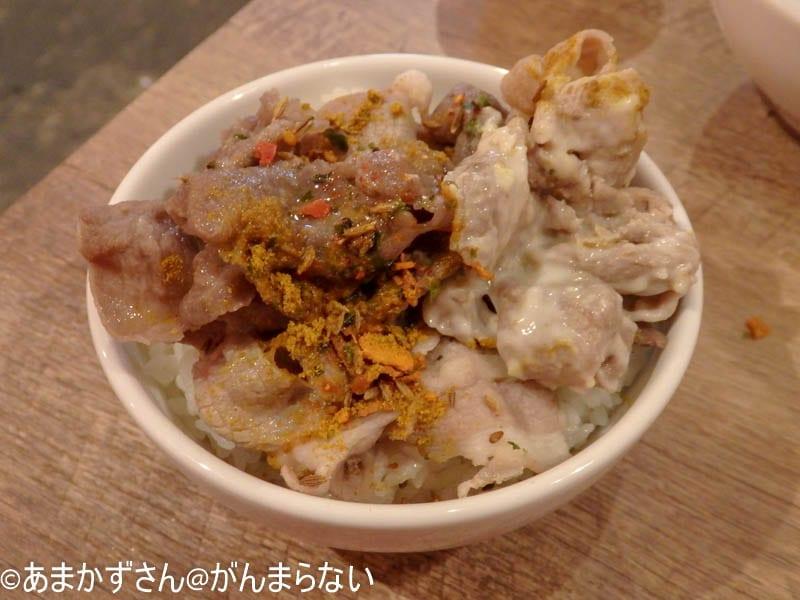 秋葉原「めり乃」でオリジナルのラムしゃぶ丼