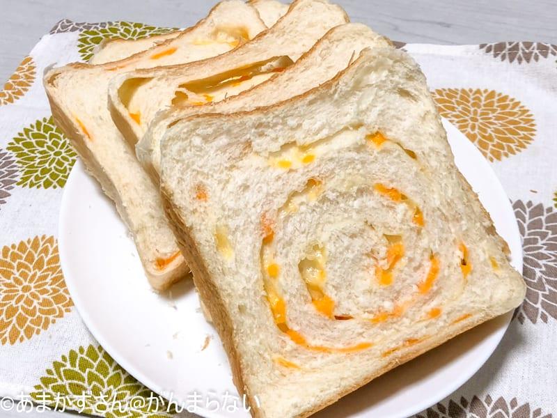 焼きたて食パン「一本堂」の「ちーず(旧:ちーずゆたか)」