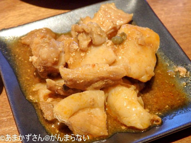 「銀座かつかみ」のご飯のお供「ピリ辛山椒煮」