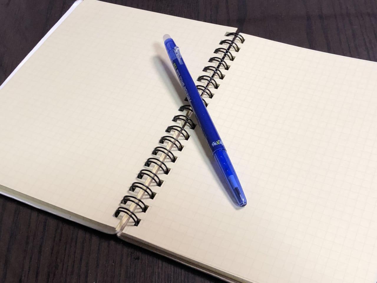 思考を整理する時につかうノート