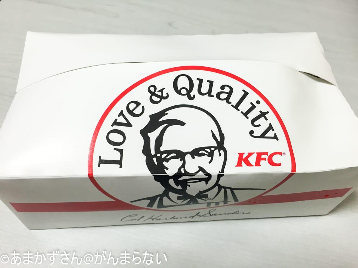 ケンタッキーフライドチキン「オリジナルチキン」の箱