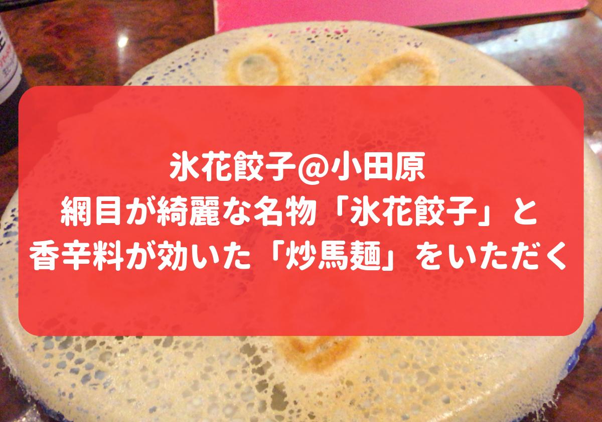 氷花餃子 アイキャッチ