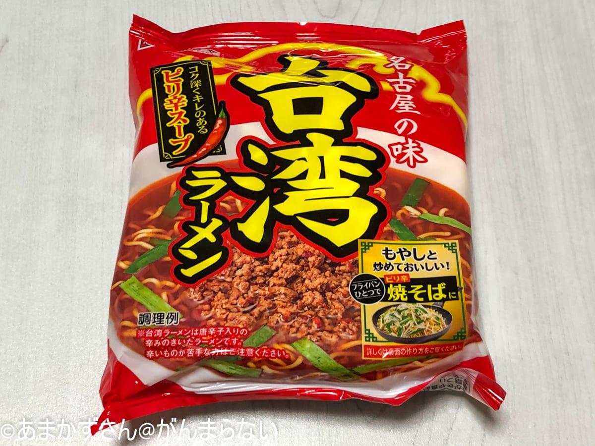 寿がきや「5食入台湾ラーメン」のパック