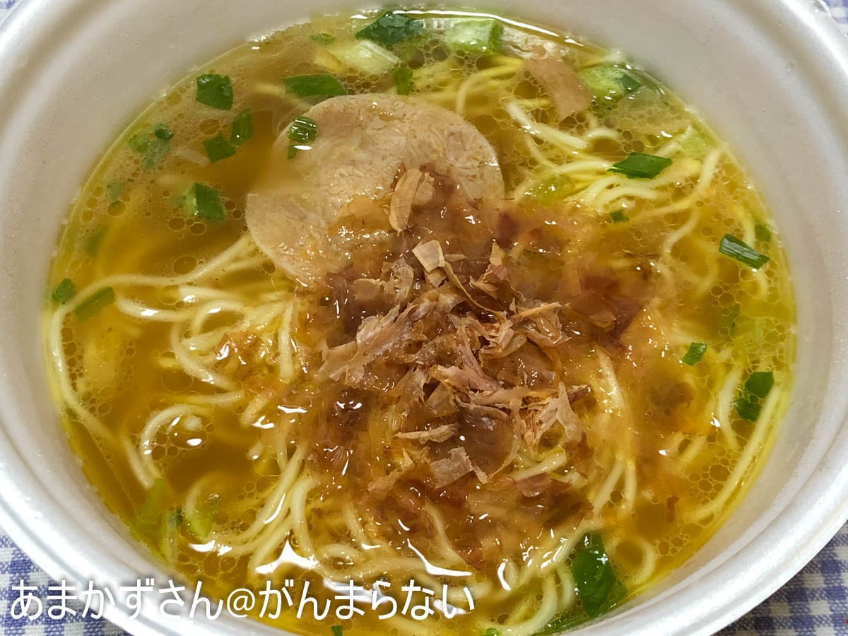 ラーメン カップ 麺 焼津