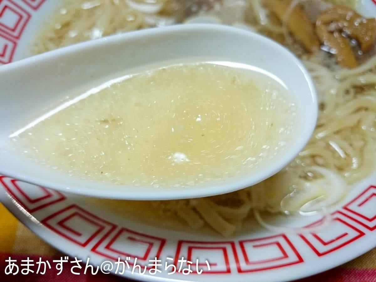 讃岐ラーメンのスープ