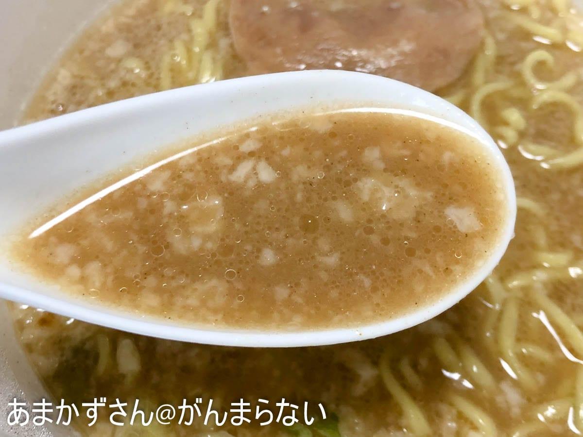 マルちゃん正麺 カップ 濃ニボのスープ。