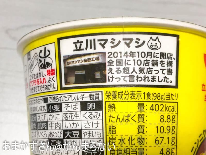立川マシマシ ウマ汁こってりマシライスの店紹介