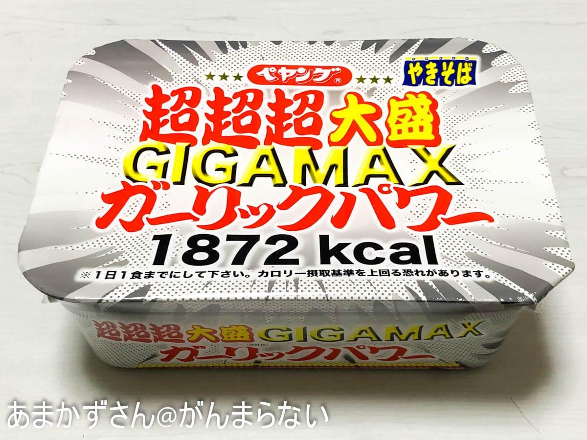GIGAMAXガーリックパワーパッケージ