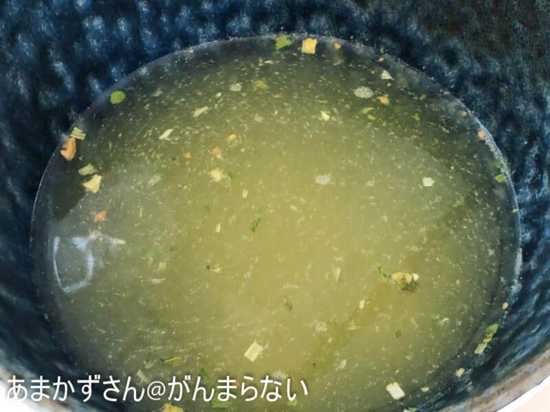スープを溶かす