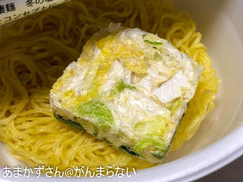 フリーズドライの白菜